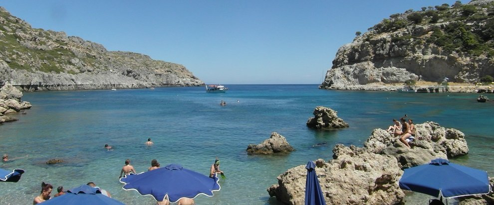 Dovolená Rhodos - pláž Antony Queen