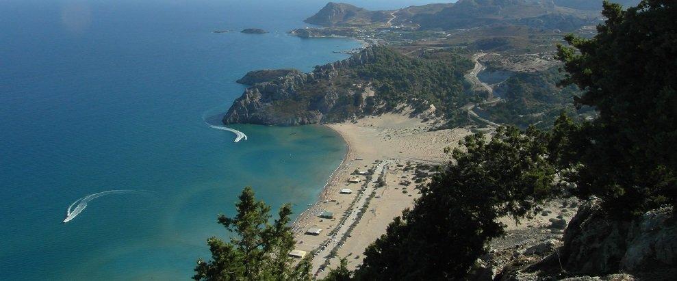 Dovolená Rhodos - pláž Tsambika