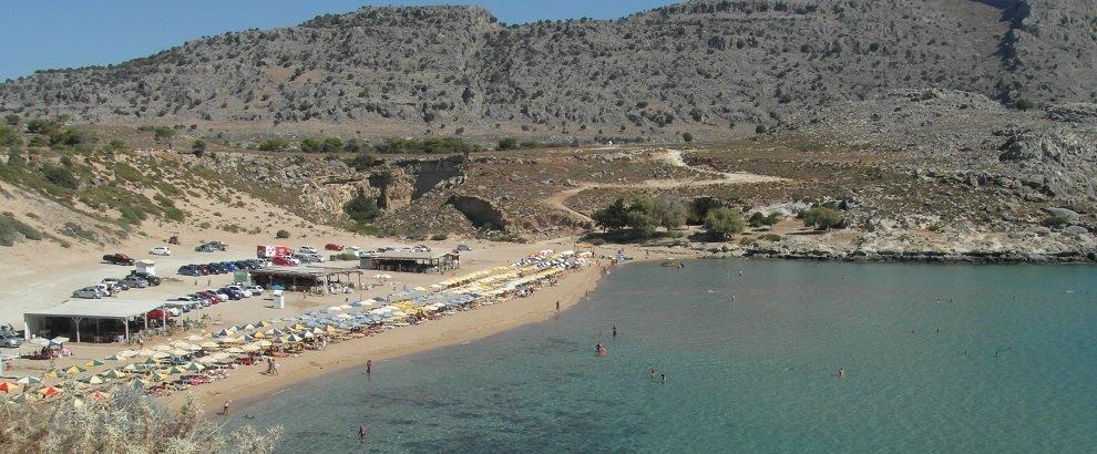 Dovolená Rhodos - pláž Golden Sand