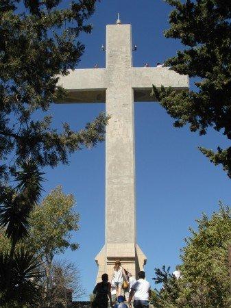 Rozhledna ve tvaru kříže - Filerimos