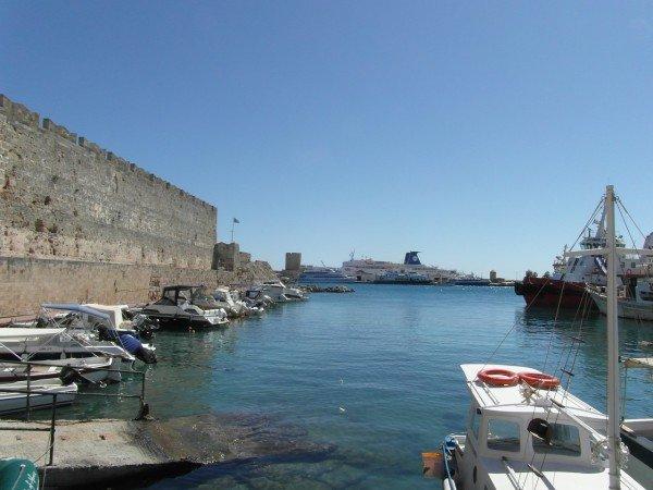 Hlavní město Rhodos - přístav