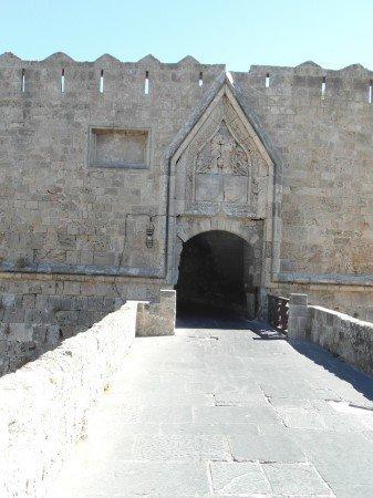 Hlavní město Rhodos - vstup do starého města