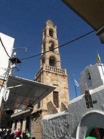 Věž se zvonicí - Lindos