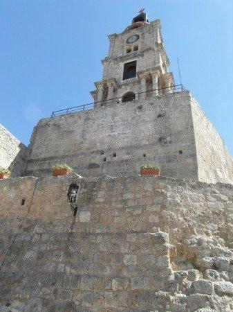 Zvonová věž - staré město Rhodos