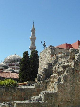Mešita - staré město Rhodos