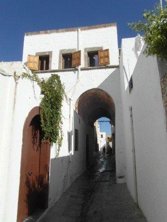 Původní dům ve starobylé vesničce Lindos