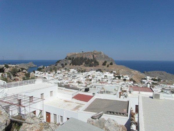 Starobylá rybářská vesnička a akropole Lindos